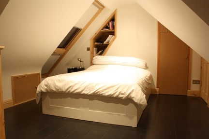 The bedroom created by Simply Loft