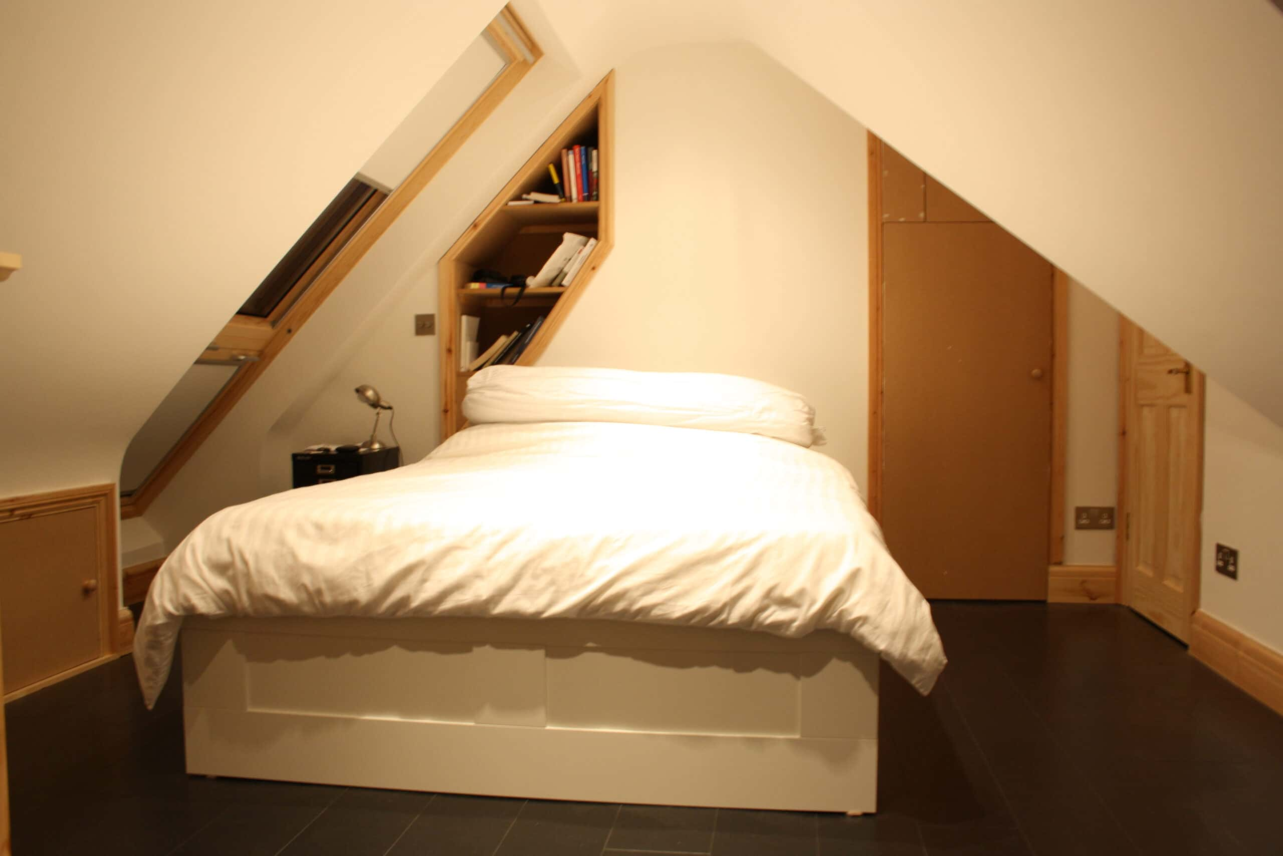 Small loft conversion in london - Small loft space model ...