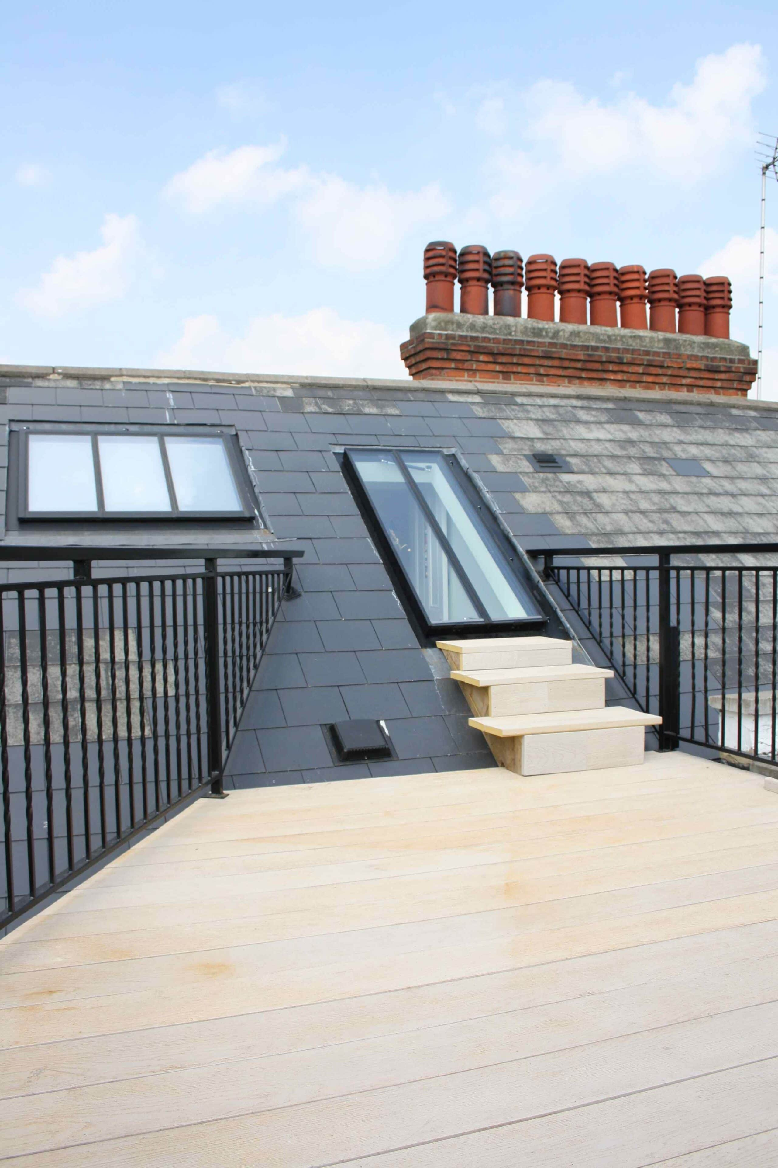 Simply Loft london loft conversion roof terrace