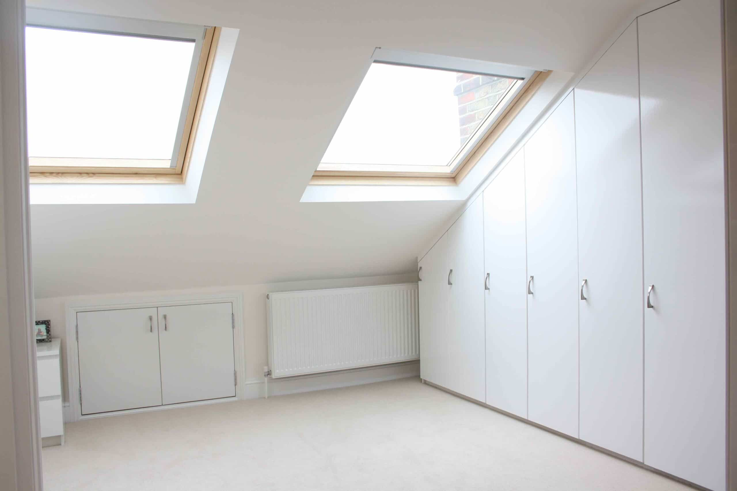loft conversion lighting ideas - Storage Ideas Eaves Storage Wardrobes