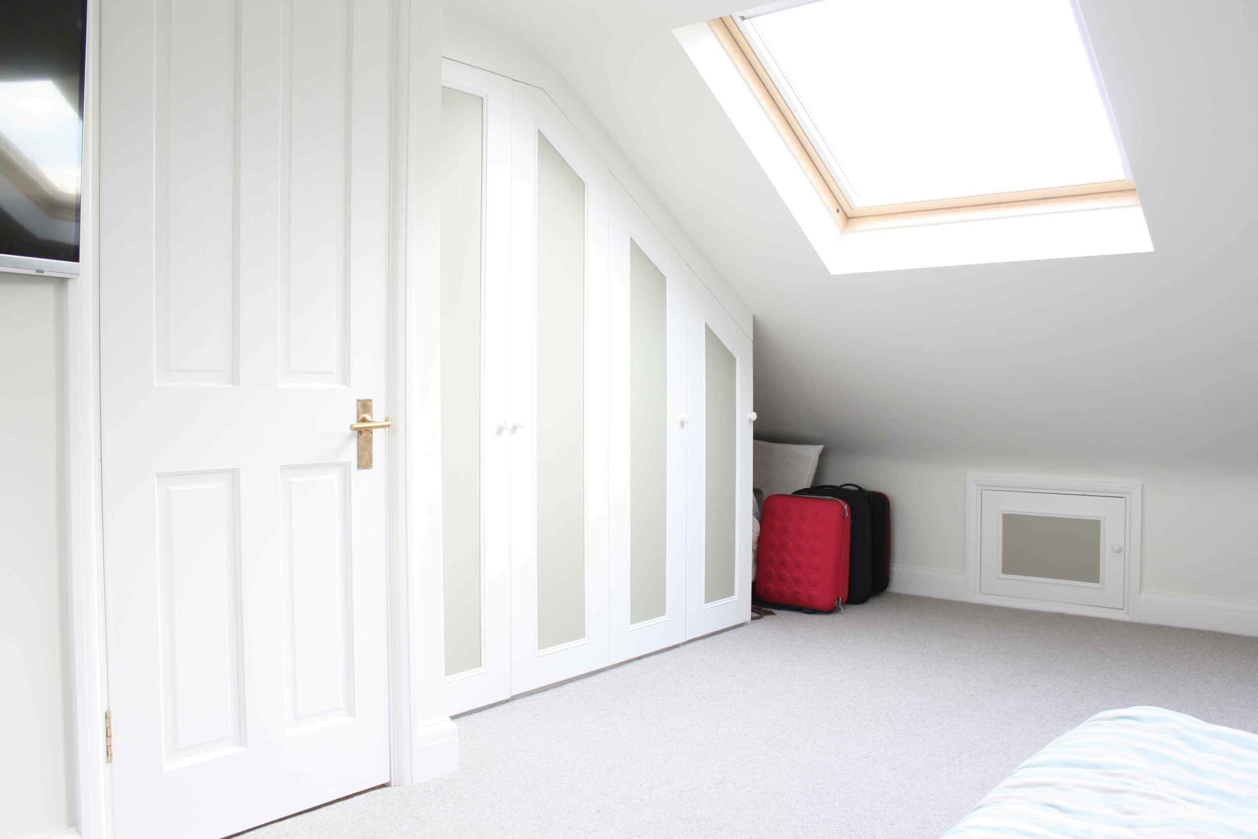 Loft conversion Storage Solutions & How to use dead space in a loft conversion - Simply Loft London Loft ...