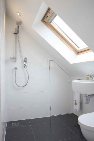 Custom fitted bathroom suites for loft conversions