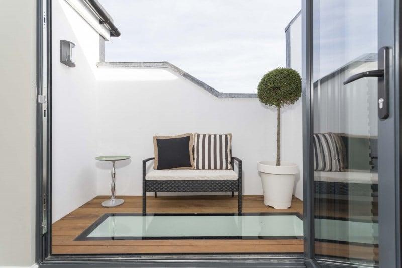Bedroom loft conversion ideas london loft conversions for Balcony bedroom ideas
