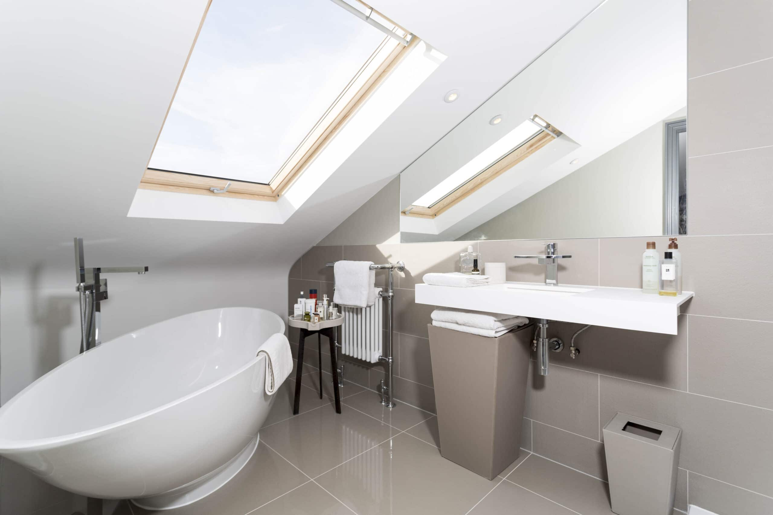Ensuite Bathroom Ideas Uk making the most of a small bathroom in a loft | simply loft