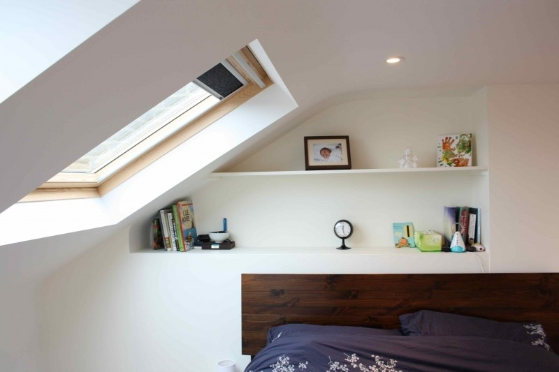 Built in shelving for loft conversions