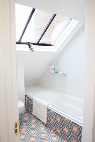 Dormer loft en-suite bathroom ideas