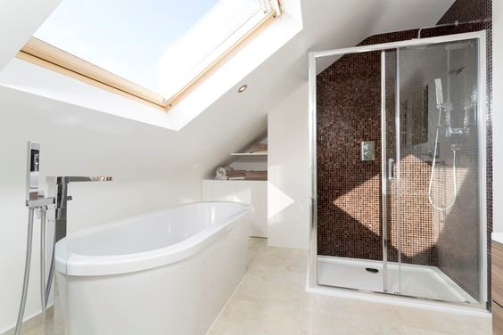 Loft bathroom conversion ideas