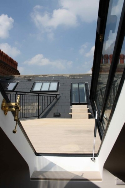 roof terrace conversion