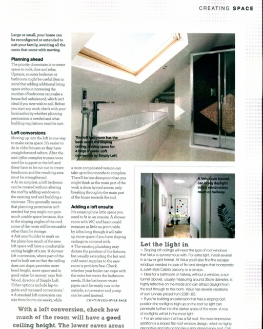 Simply Loft Housebeautiful June 2015