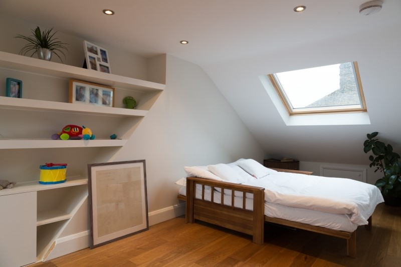 bedroom loft conversion space