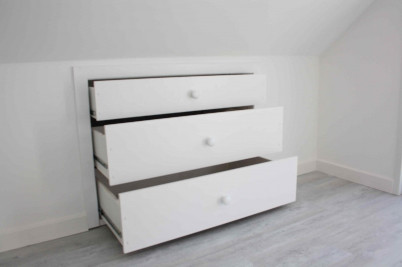 bedroom loft conversion storage